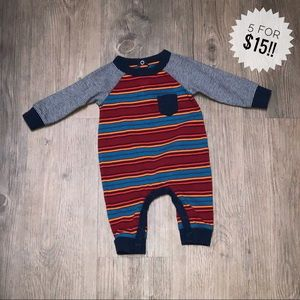 Cat and Jack striped one piece